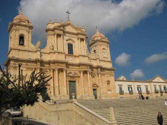 Die beeindruckende Kathedrale von Noto