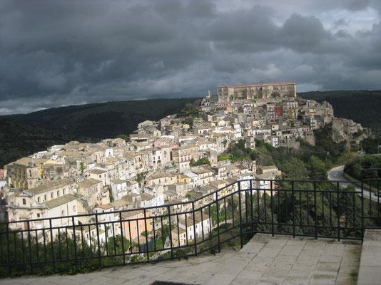 Aussicht auf Ragusa-Ibla