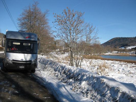 Winterliche Route Napoléon