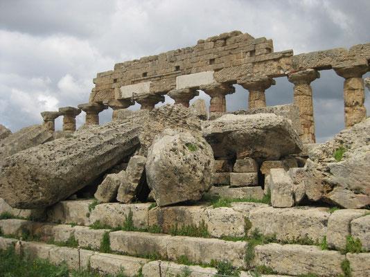Acropolis in Selinunte