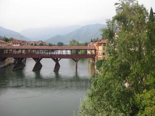 Die Sehenswürdigkeit von Bassano del Grappa