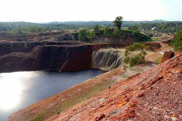 Blick auf das Gebiet der Minas S. Domingos