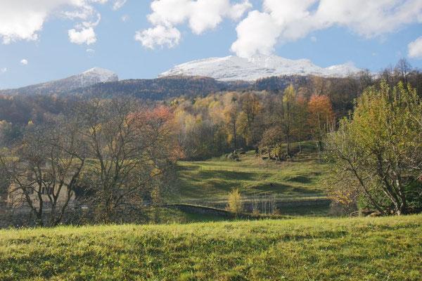 Herbst und Winter am Fusse des Lucumagno