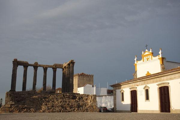 Der Römische Tempel oder was davon übrig geblieben ist