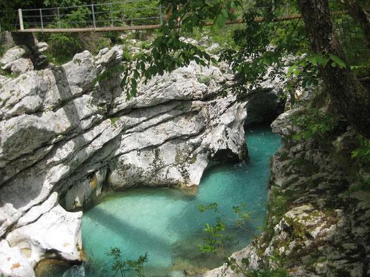 schönster Fluss Sloweniens