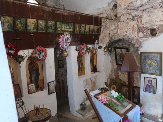 Das bescheidene Innenleben des Kirchleins