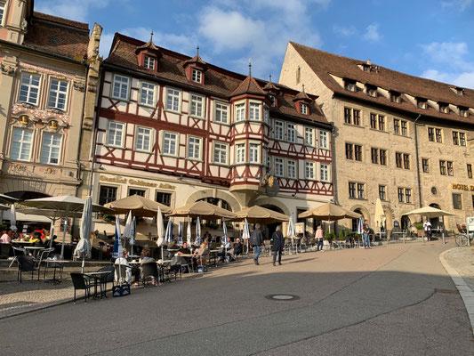 Am Markt in Schwäbisch Hall