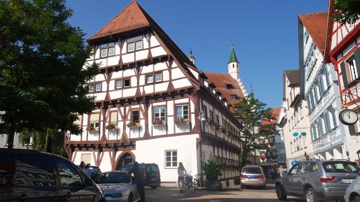 Ehrwürdiges, stattliches Rathaus