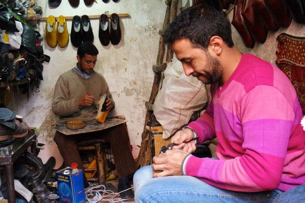 Die wahren Künstler des Schuh-Handwerks überzeugen mit ihrer Fertigkeit