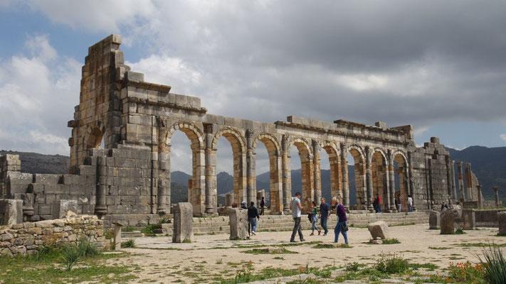 Die Stätte aus der römischen Antike gehört seit 1997 zum UNESCO Weltkuturerbe