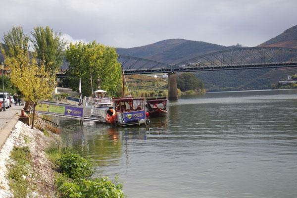 In Pinhao, am Ufer des Douro