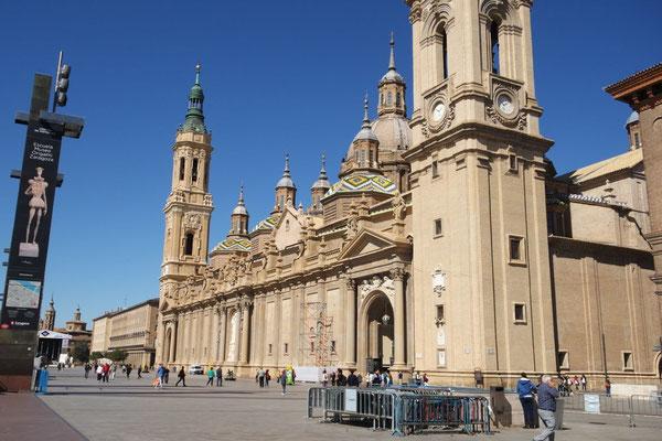 """Der """"spanische Markusplatz"""" in Zaragoza"""