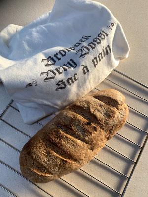 Das wohl letzte Brot aus dieser Carthago-Backstube .......