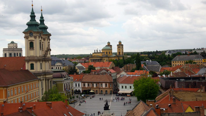 Stadtüberblick - Eger zählt zu einer der ältesten Stadtgründungen Ungarns