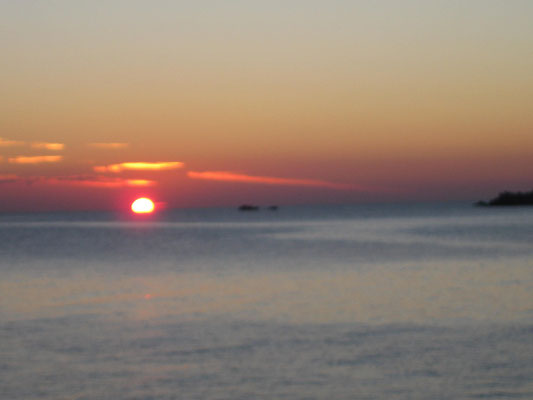 Sonnenaufgang nach Geduldsprobe