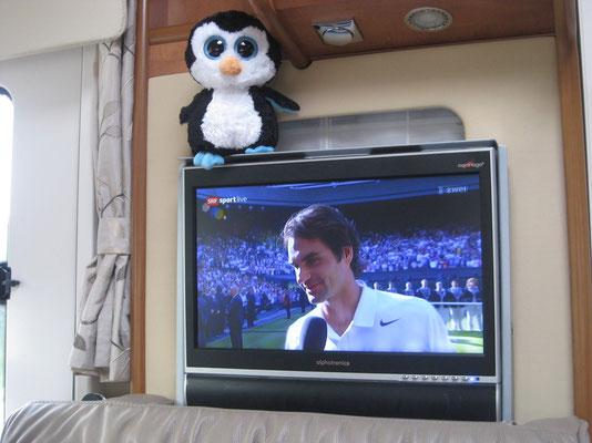 Interview nach dem Wimbledon-Krimi!