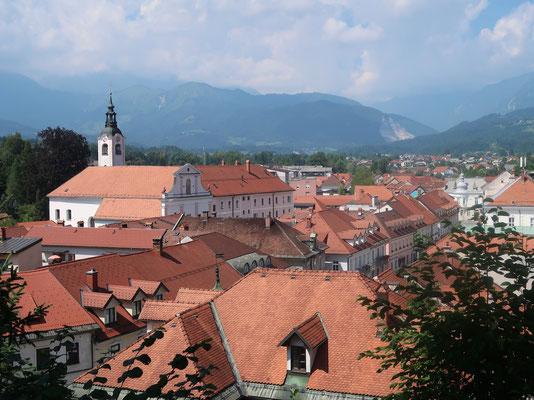 Über den Dächern von Kamnik