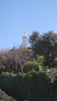 Die spanische Miniatur-Ausführung des Cristo Rei in Lissabon