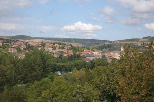 Und hier die umgekehrte Sichtweise: von Paulhe nach Aguessac (inkl. unser Heimetli!)