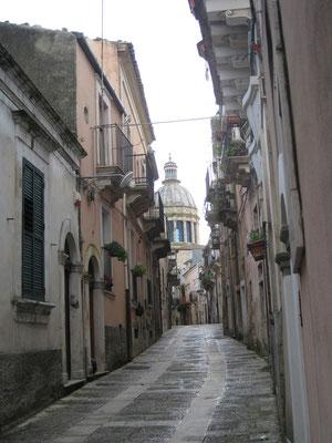 Durch die Gassen von Ragusa