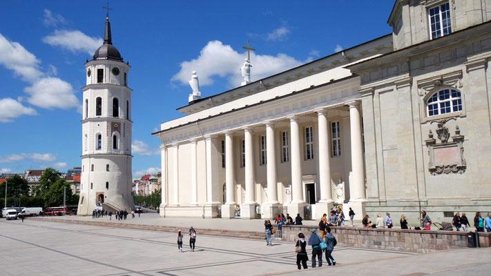 der Hauptstadt Litauens