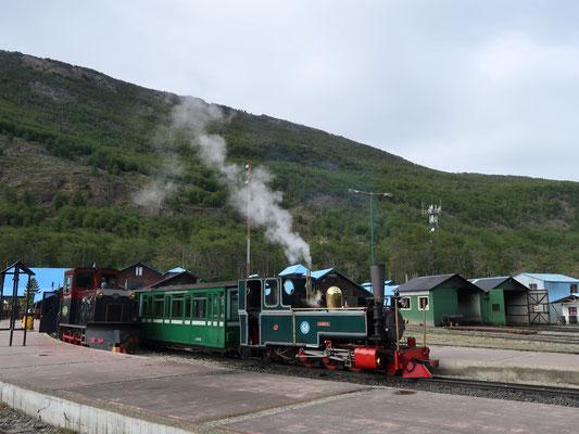 Mit Dampf unterwegs im Nationalpark Tierra del Fuego