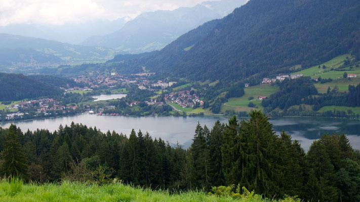 Die Sicht auf den Alpsee