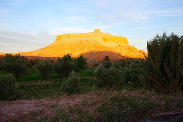 Abendsonne über Ait Benhaddou