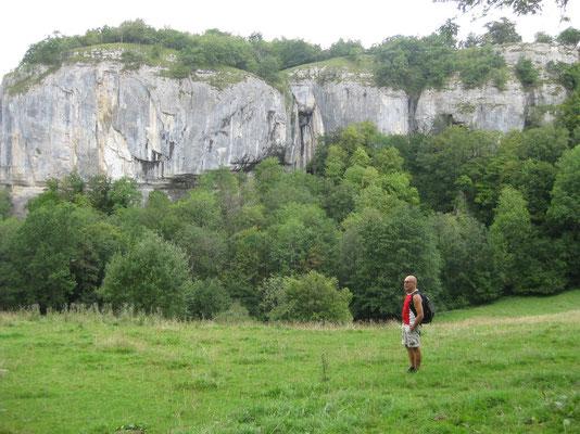 """Vorbei an den  """"Hautes Roches"""" führt unsere Wanderung"""