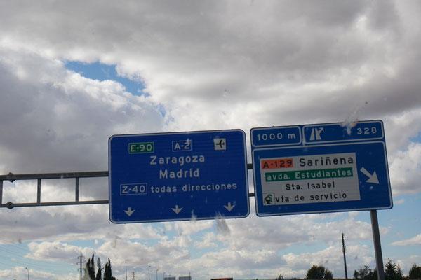Auf nach Zaragoza