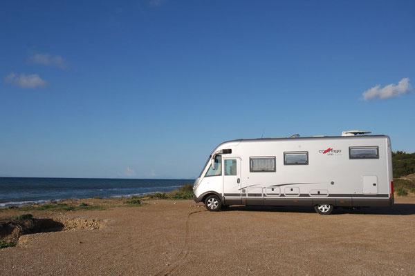 An der Mapania Beach von Kastro