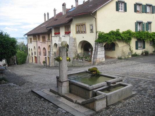 Zu Besuch im historischen Erlach