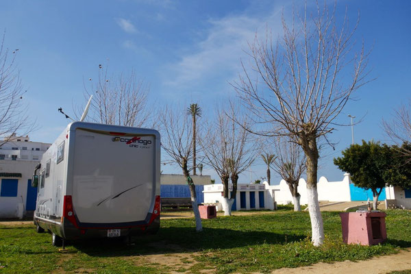 Der Camping in Asilah - manches funktioniert auch!!