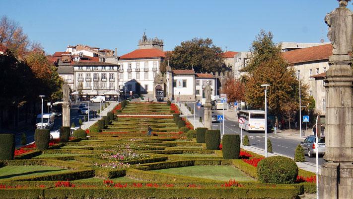 In Guimaraes soll der erste König Portugals geboren worden sein, sie war deshalb die erste Hauptstadt des Landes