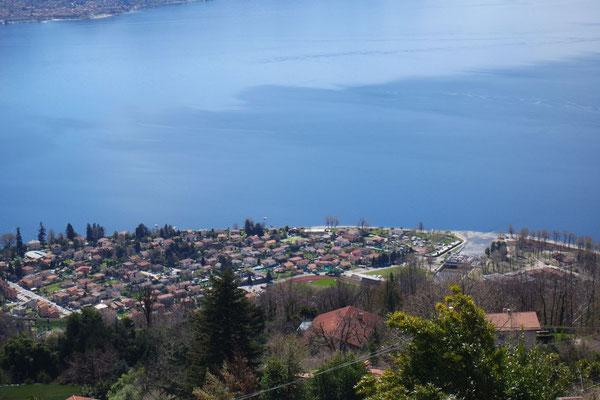 Blick von Campagno auf Maccagno
