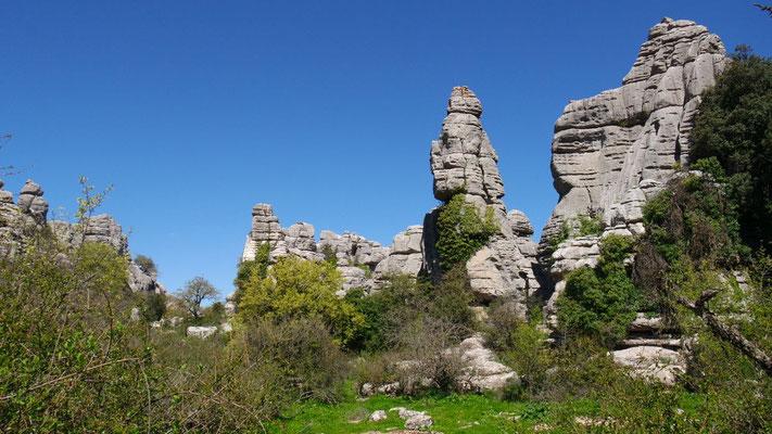 Unterwegs durch den Naturpark mit den Riesensteinmandli