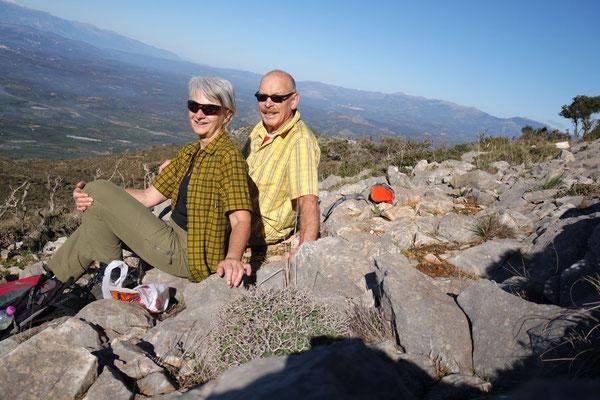 Unser Wanderexperiment auf die Krete oberhalb Alt Glykovrysi