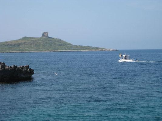 Abschied von Isola delle Femmine .....