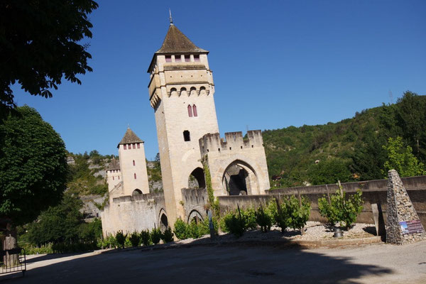 Die legendäre Brücke von Cahors