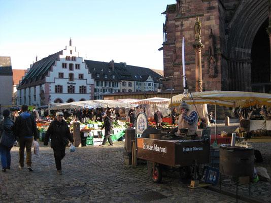 Marktgeschehen in Freiburg i.Br.