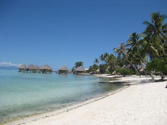 An Regentagen kommt Sehnsucht auf nach Bora Bora