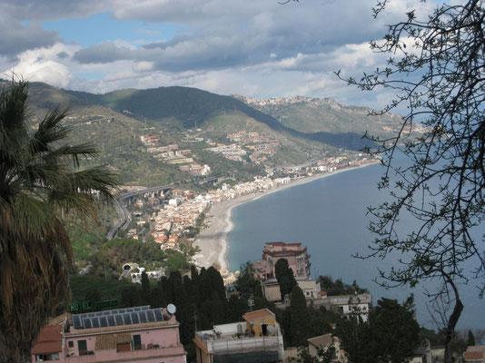 Ausblick von Taormina