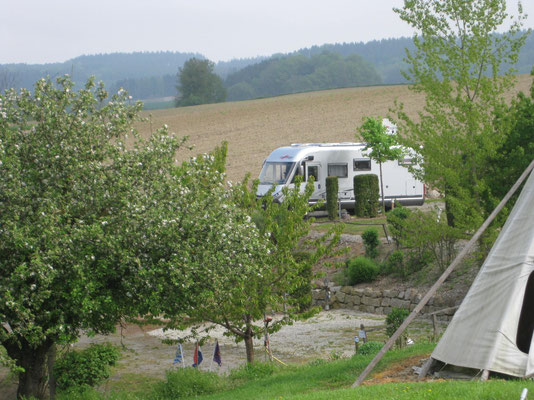 Terrassencamping in Bad Birnbach