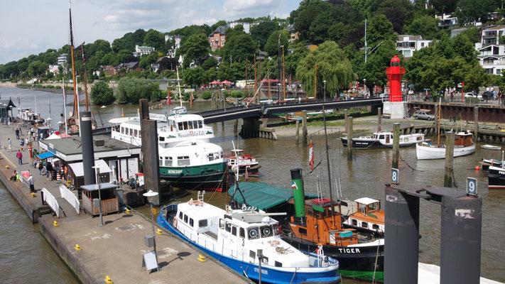 Stimmungsbild vom Museums-Hafen