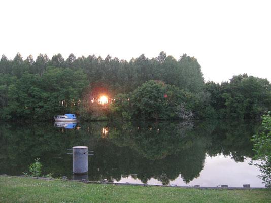 Abendruhe an der Yonne