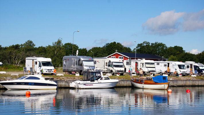 Nachtlogis am Gästehafen in Sandhamn