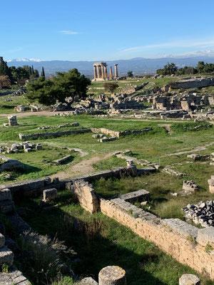 Historische Stätte Alt Korinth - immer wieder schön!