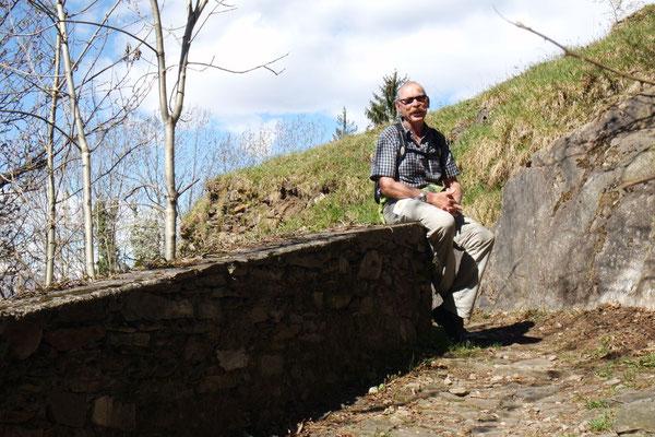 Unterwegs von Maccagno hinauf ins Dörfchen Campagno