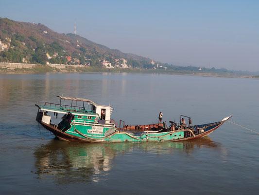 Typisches Irrawaddy Sujet