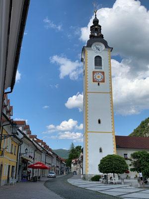 In der Kleinstadt Kamnik